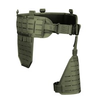 1000D Men\'s Tactical Belt Army Nylon Ultra wide tactical quick release breathable multi functional Belt Adjustable Soft Padded