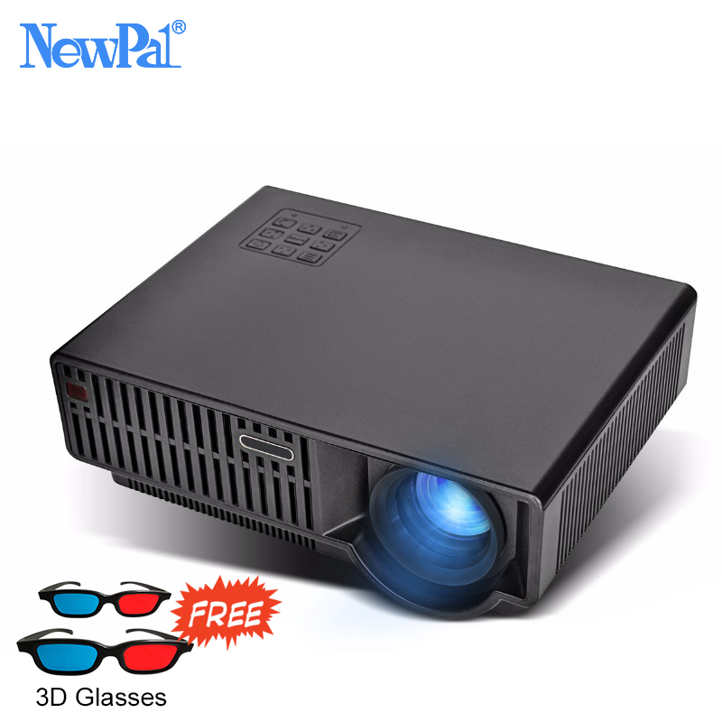 Led Projector 3500 Lumens Beamer 1280 800 Lcd Projector Tv: Newpal Projector T90 LED Projector 3500 Lumens 4K/2K Home