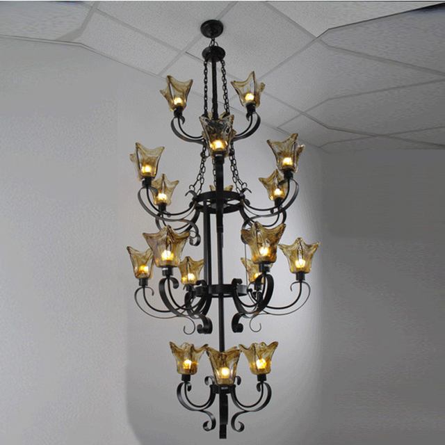 antique wrought iron chandeliers foyer vintage antique chandelier edison  glass shade light living room classical chandelier - Antique Wrought Iron Chandeliers Foyer Vintage Antique Chandelier
