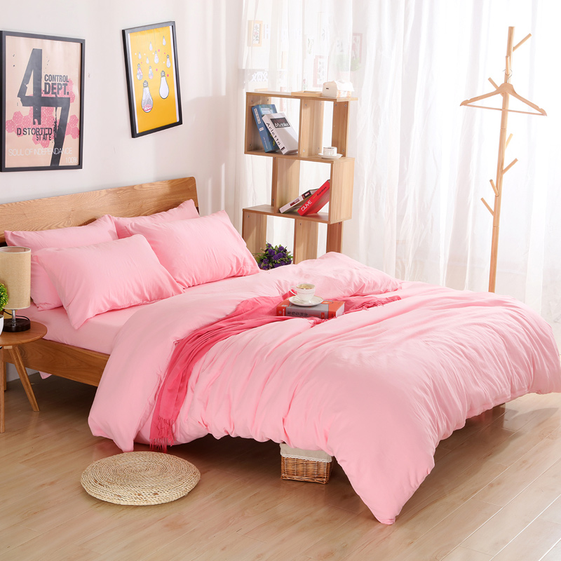 Online Get Cheap Pink Twin Bedding Aliexpress Com