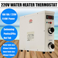 11KW 220V AC Electric Water Heater Thermostat For Swimming Pool SPA Hot Tub Bath