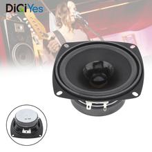 4 Inch DIY Portable Tweeter Full Frequency Speaker Rubber Midrange Woofer Low Frequency Unit for Outdoors / Motorcycle