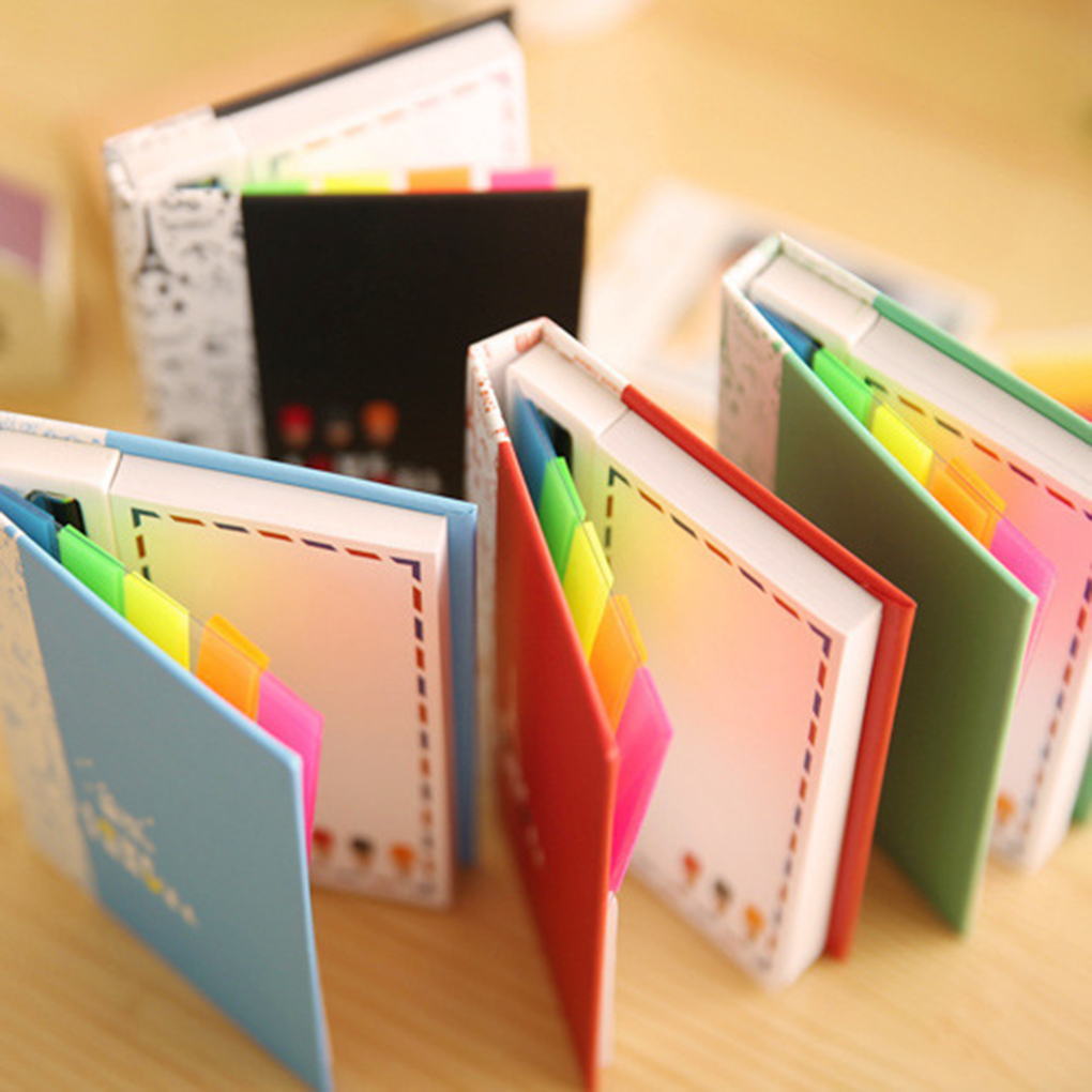 2019 HOT Hard Shell Cartoon Animals Design Notepad Memo Notebook With Pen And Sticker Pads