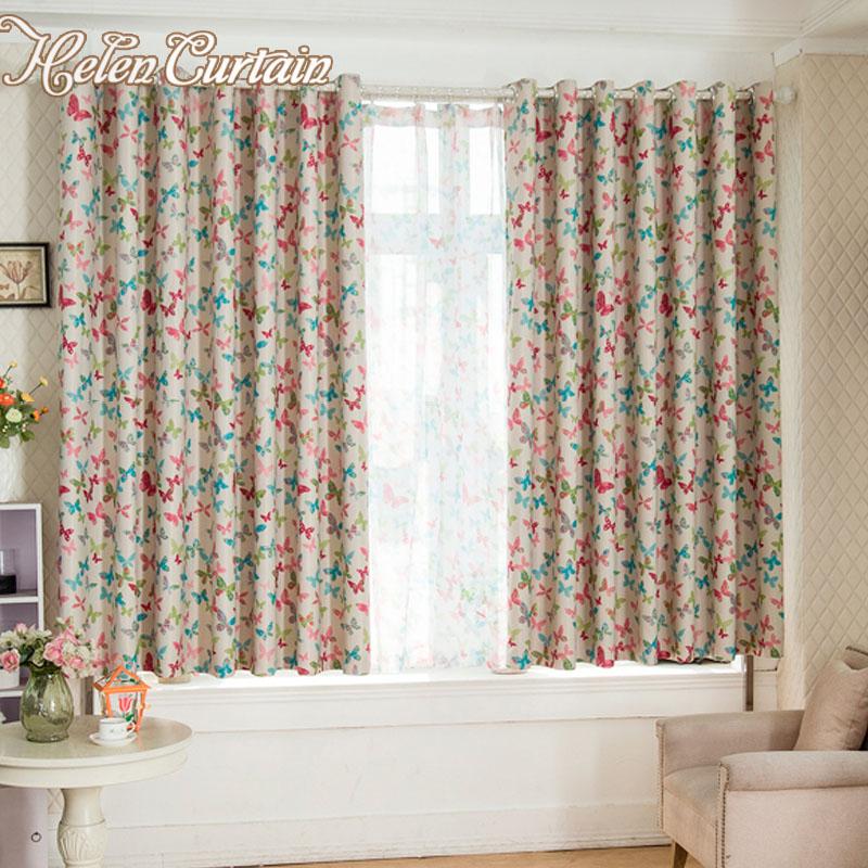 nuevo apagn cortinas para la sala de estar de doble cara de impresin de la