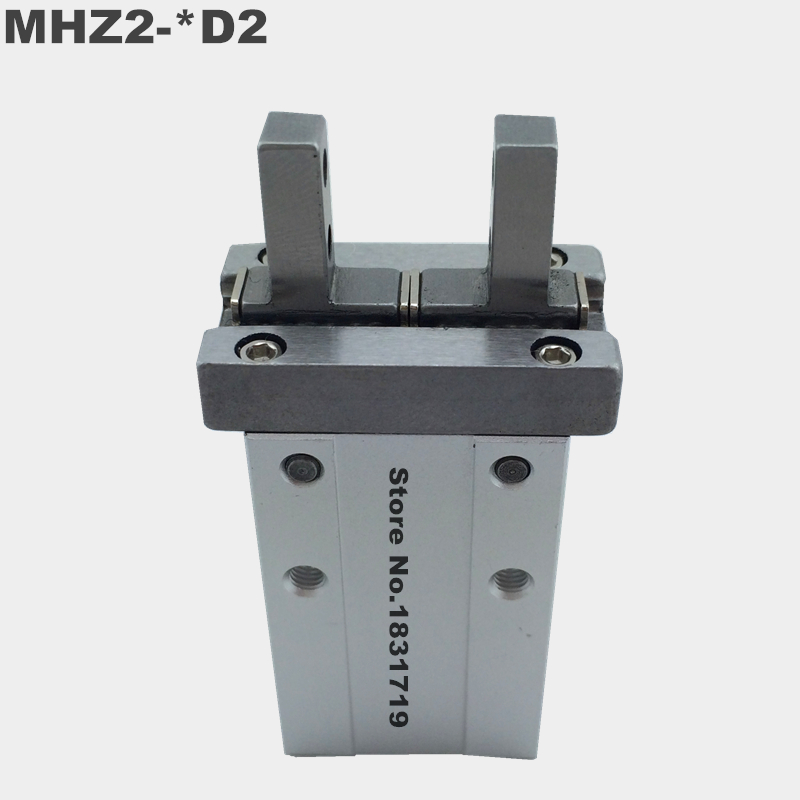 SMC standard type MHZ2-40D2 pneumatic finger cylinder parallel open air claw Double action MHZ2 40D2 mhz2 20d parallel finger cylinder manipulator smc type pneumatic finger cylinder