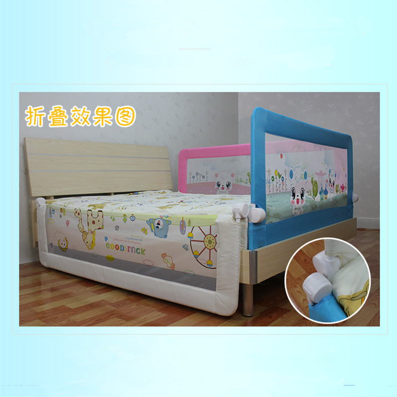 Online Shop 15068cm Foldable Safety Toddler Bed Rail Aliexpress