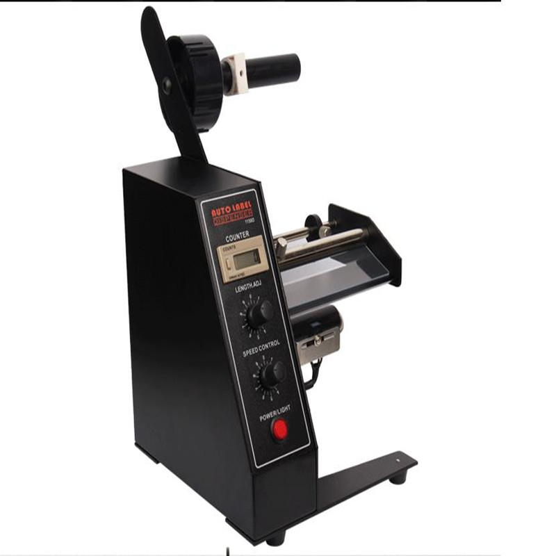 1150D Desktop Label peeling machine,Label separator,automatic Label retractor,Label Rewinder, AC 220V, 30W