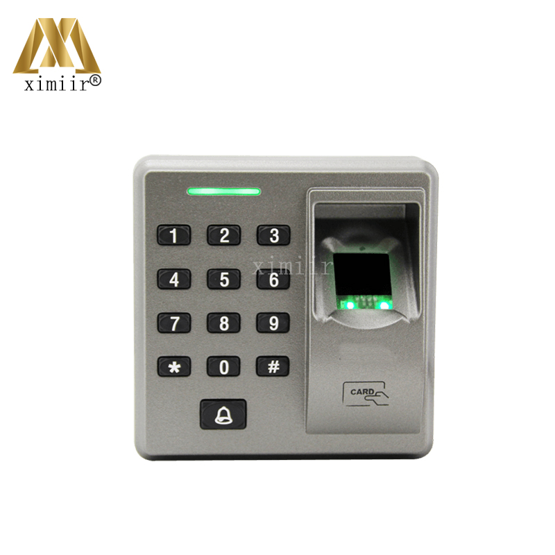 RS485 Fingerprint Reader For Access Control System Inbio460 Access Control Panel FR1300 RS485 Fingerprint And RFID Card Reader biometric face and fingerprint access controller tcp ip zk multibio700 facial time attendance and door security control system