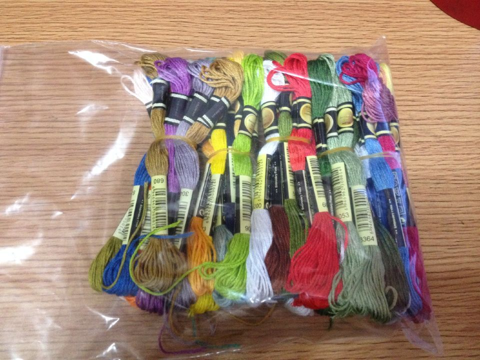 oneroom Choose Any CXC Threads Number Total 100 Skeins Thread +50 Pieces Needle Embroidery Cross Stitch Floss Similar DMC Thread