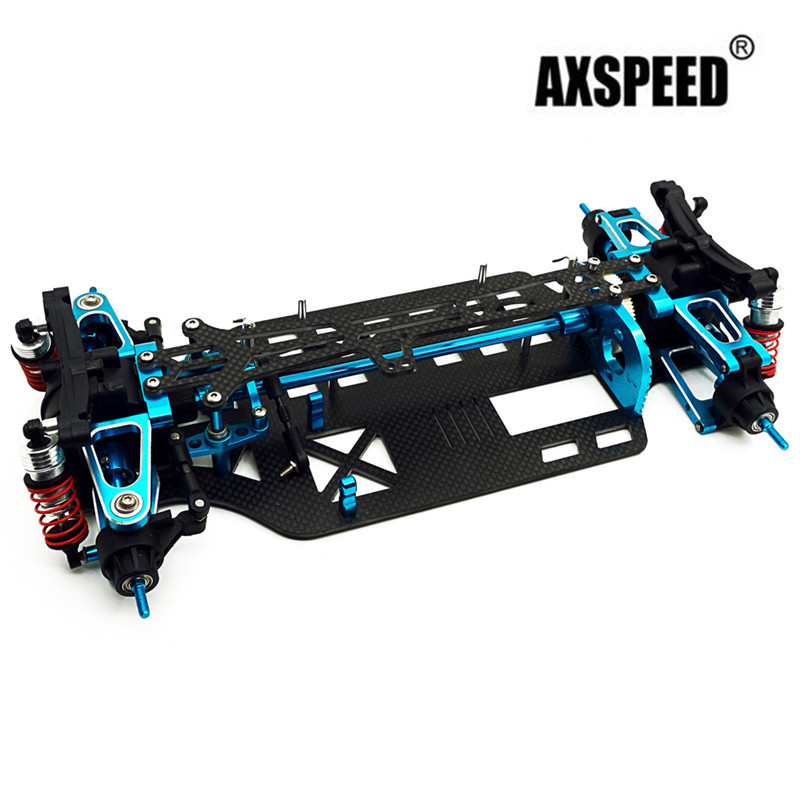 Newest Alloy Carbon Shaft Drive 1 10 Rc Touring Car Frame Kit For