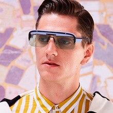 High Quality Retro Square Sunglasses Men Brand Designer