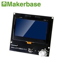 Visor da impressora 3D MKS LCD12864A módulo do painel de display LCD controlador inteligente