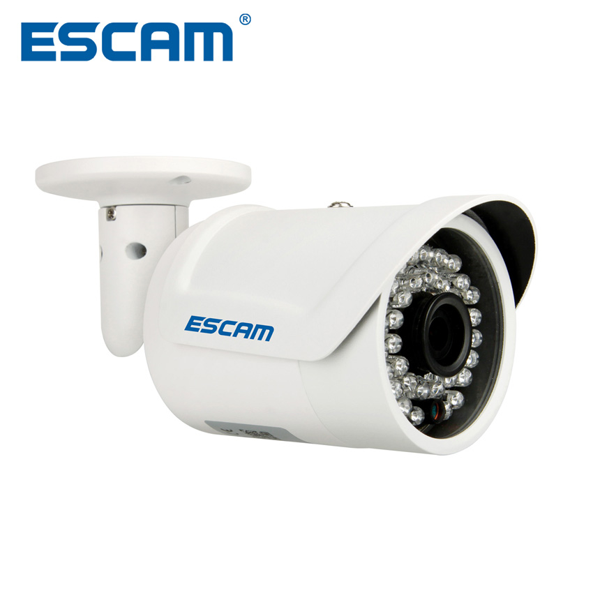 Escam Fighter QD320 Mini IP Camera 1.0 MP HD 720P Onvif P2P IR Outdoor Surveillance Night Vision Infrared Security CCTV CameraEscam Fighter QD320 Mini IP Camera 1.0 MP HD 720P Onvif P2P IR Outdoor Surveillance Night Vision Infrared Security CCTV Camera
