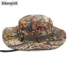 2017 NEW Jungle Cotton Bucket Hats Europe And The United States Summer Camp Mountaineering Basin Cap Outdoors Sun Hat Unisex