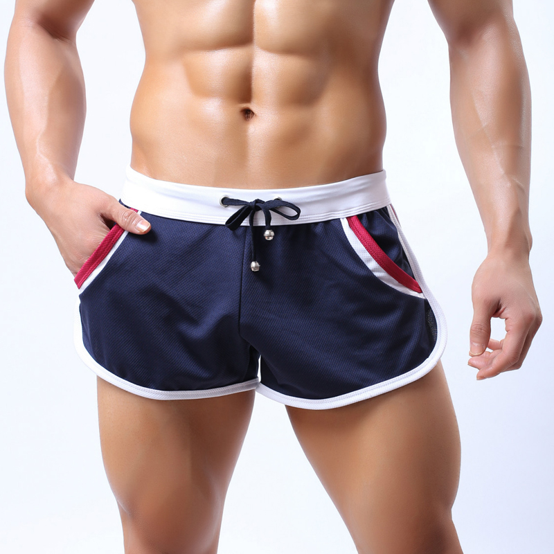 New 2020 Outdoor Athletics Sport Summer Running Jogger Gym Track And Field Men's Thin Loose Fitness Sports Arrow Shorts Men