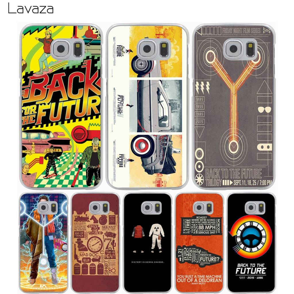 Lavaza Back To The Future Case for Samsung Galaxy A3 A5 A8 J1 J2 J3 J5 J7 Prime 2016 2017 2018 Note 5 8