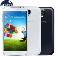 Разблокирована оригинальный Samsung Galaxy S4 I9505 I9500 мобильный телефон Quad Core 5 «телефона 2 ГБ Оперативная память 16 ГБ Встроенная память отремонтированы смартфон