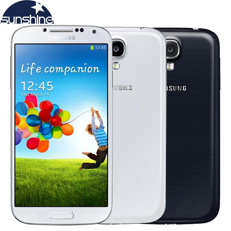 Abierto original samsung galaxy s4 i9505 i9500 teléfono móvil quad core 5 \