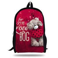 Calopaker 16-inch Mochila Infantil Tatty Teddy Me To You Bear Backpack Children School Bags For Teenage Girls Backpack Kids