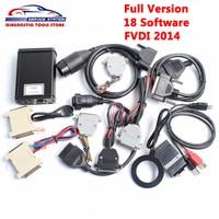 DHL 무료 최고의 FVDI 포함한 전체 버전 18 소프트웨어 활성화 FVDI ABRITES 사령