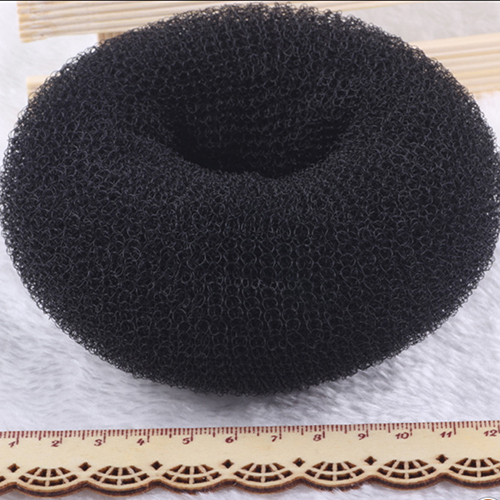 2Pcs Black S M L Magic Blonde Donut Hair Ring Bun Former Shaper Hair Styler Maker Tool ...