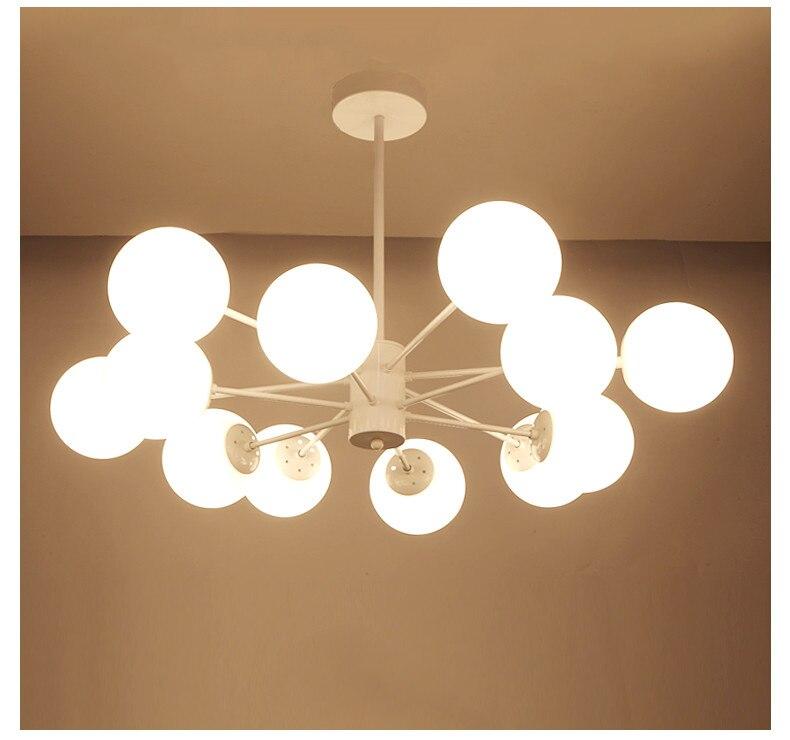 Girban Brand Jason Miller Modo Modern LED Chandelier Light Fitting Bubble Chandelier Restaurant Hanging Lamp Pendant Suspension