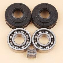 Комплект сальников коленчатого вала для HUSQVARNA 340 340E 345 345E 350 EPA Запчасти для бензопилы 503932301 503932302