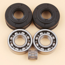 Crankshaft Crank Bearing Oil Seal Kit For HUSQVARNA 340 340E 345 345E 350 EPA Chainsaw Parts 503932301 503932302