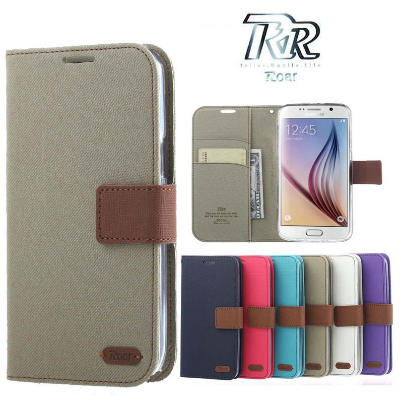 ROAR KOREA Galaxy Not 3 case Wallet Holster Stand Cover case for Flip Coque Samsung Galaxy Note3 III n9000 n9005 phone cases
