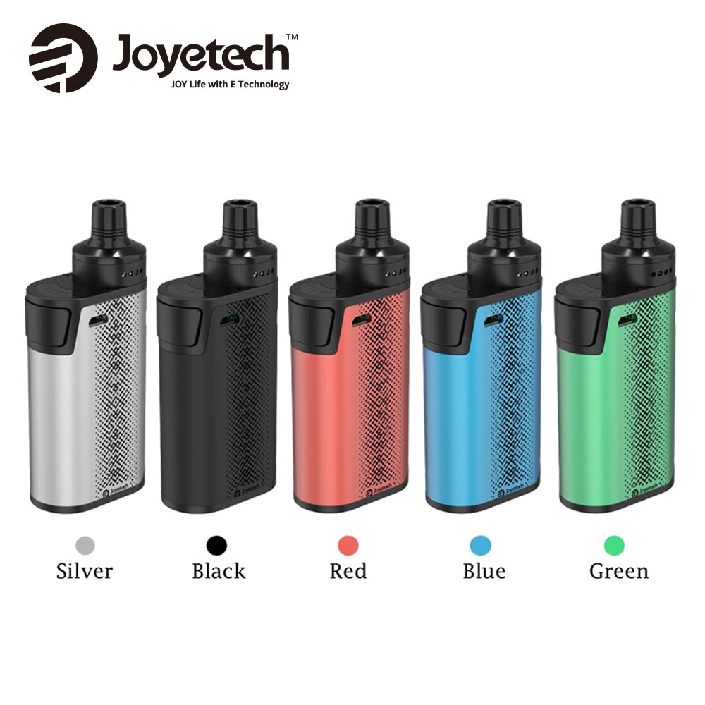 Originale Joyetech CuBox AIO Starter Kit con 2000 mAh Batteria & 2 ml capacità Serbatoio e 0.6ohm ProC-BF Bobina Max 50 W Vs Ego Aio Box