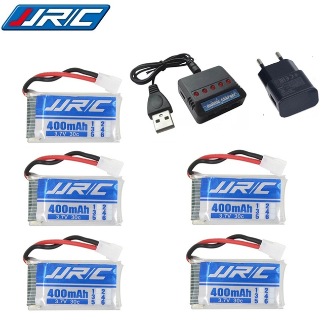 Lipo Battery 3.7v 400mAh 30C for JJRC H31 / JJRC H43hw Drone Li-Battery JJRC H31 Lipo Battery + ( 5in1 ) cable charger 3/4/5pcs 1