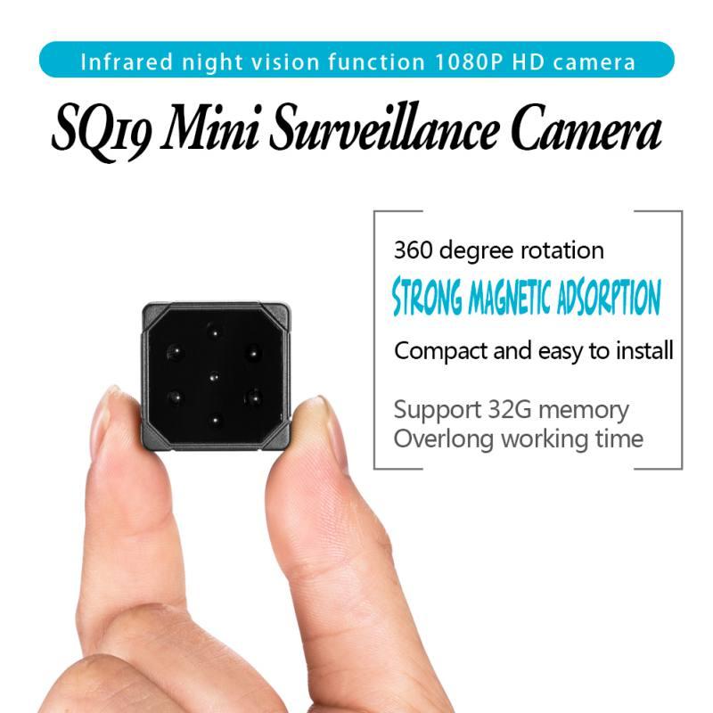 SQ19 Car Camera HD 1080P Sensor Night Vision Camcorder Micro Video Camera DVR DV Motion Recorder Camcorder Support 32GB TF CardSQ19 Car Camera HD 1080P Sensor Night Vision Camcorder Micro Video Camera DVR DV Motion Recorder Camcorder Support 32GB TF Card