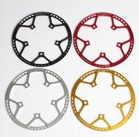 Складывающийся BMX маленький велосипед BCD130 круглая пластина один дисковое зубчатое колесо 45, 47 (Европа) 53 56-58 T Звездочка Адреналин