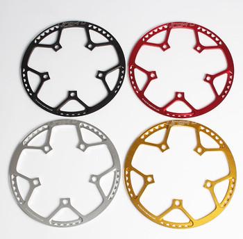 Litepro składany rower BMX mały rower BCD130 okrągły talerz pojedynczy dysk biegów 45 47 53 56 58T korba koła łańcuchowego tanie i dobre opinie Koło łańcuchowe Ze stopu aluminium ze stopu aluminium