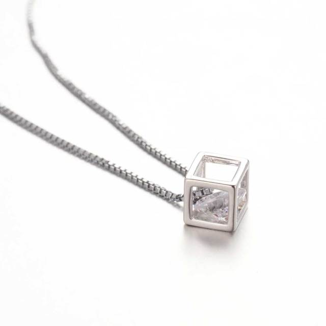 Charming Boxed Crystal Pendant