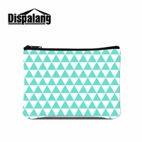 Dispalang Pormotion New Arrival Coin Storage Case Striped Classic Retro Small Change Coin Purse Women Wallets
