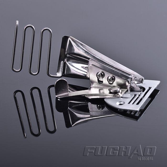 Overlock pasta fita tamanho 45mm a10 hemmer ângulo direito viés binder para lockstitch máquina ligação de borda curva