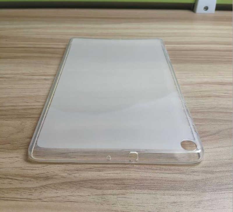 Untuk Samsung Galaxy Tab A 10.1 2019 Lembut TPU Case Kembali Cover SM-T510 T515 T510N Perlindungan Slim Shell Tas