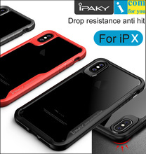 iPaky Super Drop resistance Armor anti hit Cover Case For iPhone X Shock-proof