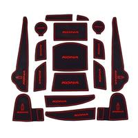 Car Cup Mat For HYUNDAI KONA Car Accessories Gate Slot Pad Door Pad Non Slip Interior