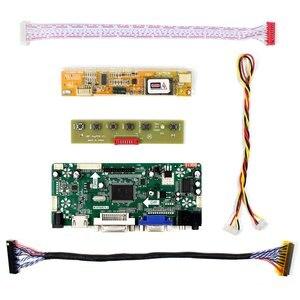"""Image 2 - Carte contrôleur Audio LCD HD MI VGA DVI pour 17 """"B170PW03 B170PW06 LP171WP4 LTN170X2 1440x900 écran LCD"""
