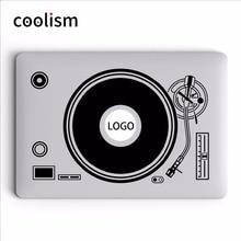 DJ Turntable Disk Record Player Vinyle Laptop Decal Sticker for Apple MacBook Sticker 11 12 13 15 inch Mac Mi Surface Book Skin