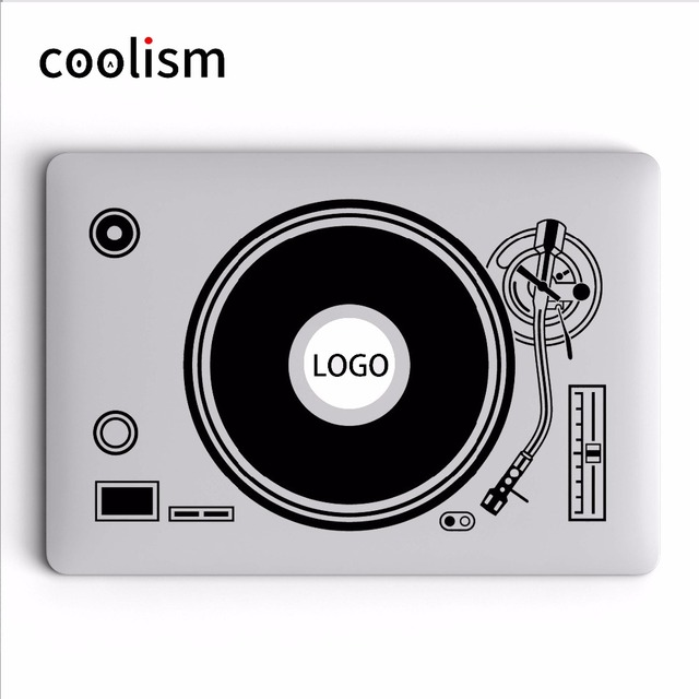 Dj Turntable Disk Record Player Vinyle Laptop Decal