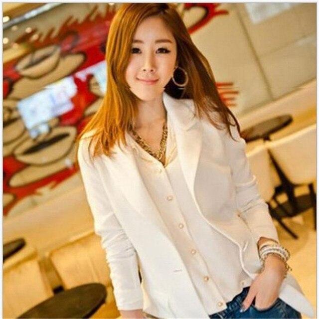 Free Shipping  New,Hot 2017 Spring Medium-Long Plus Size Slim Coat Chiffon Blazer Suit Jacket Female