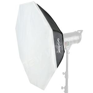 """Image 5 - Софтбокс Godox 140 см 55 """", восьмиугольник, Вспышка Speedlite, студийный светильник для фотографии, софтбокс с креплением Bowens для DE300 DE400 SK300 SK400 DP600"""