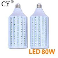 2pcs 80w LED Corn Bulb Photo Studio E27 220v Bulb Video Light Corn Lamp Bulb & Tubes Photographic Lighting