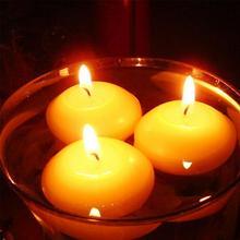 10 шт./лот, плавающие свечи для свадебной вечеринки, праздника, домашнего декора, свечи, Рождественское украшение