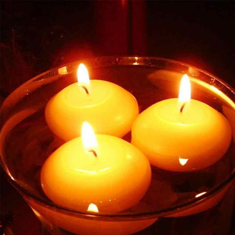 10Pcs/lot Floating Candles For Wedding Party Event Home Decor Candles Christmas Decoration