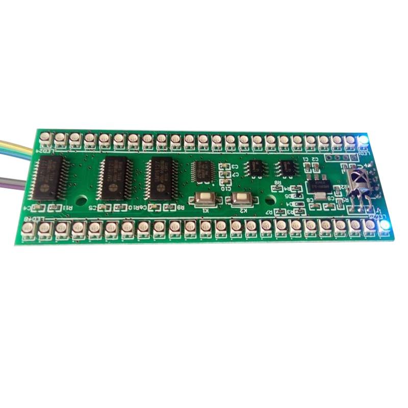 Aiyima 5PCS 5V RGB Tregues i nivelit të LED LED Bordi i - Audio dhe video në shtëpi - Foto 2