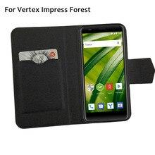 5 цветов хит! Кожаный чехол для телефона Vertex Impress лес, заводская цена, защитный полностью откидной кожаный чехол с подставкой для телефона s